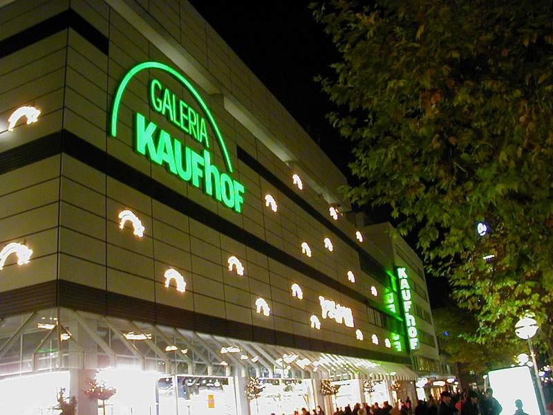 Galeria kaufhof stuttgart lighttec gmbh neuss lighttec for Galeria stuttgart